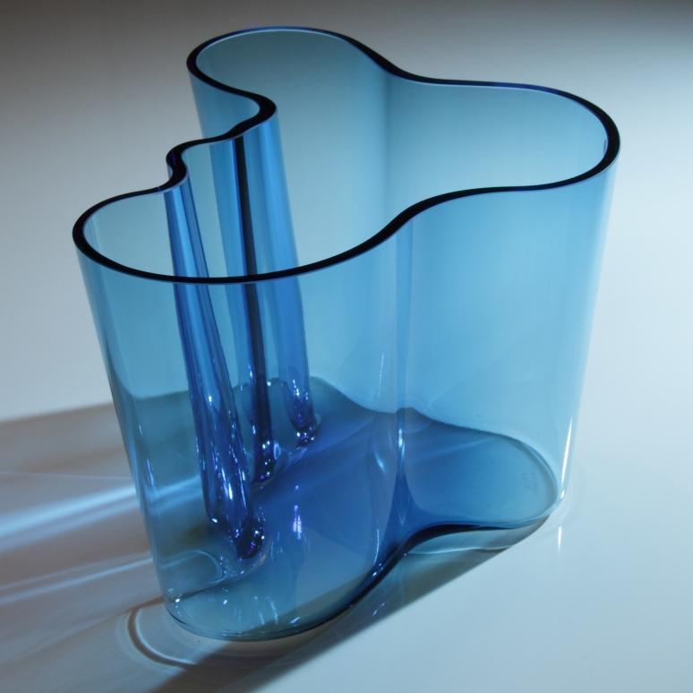 Light blue Aalto Vase